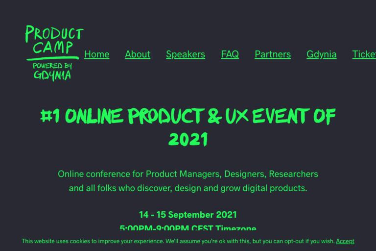 ProductCamp 2020
