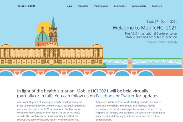 MobileHCI 2021
